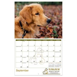 Promote.Pet Reflections 12-Month/13-Photo Wall Calendar