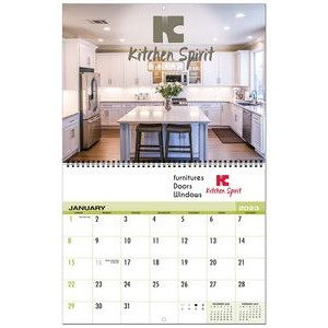 Custom 12 Month Appointment Wall Calendar