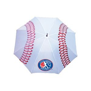 Sporty Wood Shaft Baseball Golf Umbrella